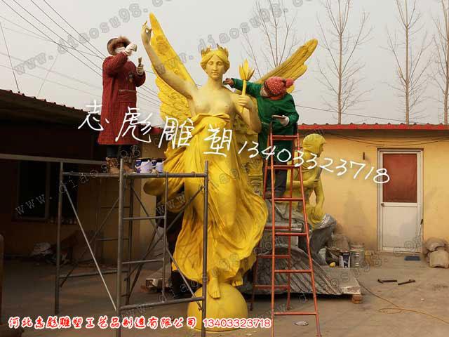 园林雕塑制作_河北志彪雕塑公司供应各种园林雕塑