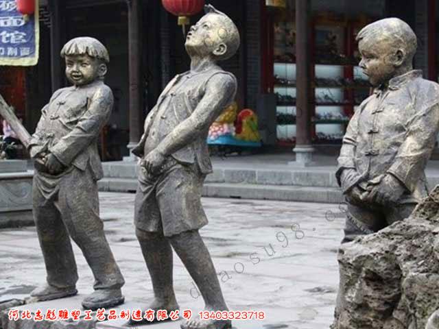 西方人物雕塑制作_河北志彪雕塑